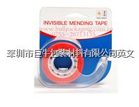 Top quality super clear /Invisible Stationery tape with dispenser made in china