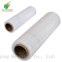Shenzhen bull packaging strong puncture LLDPE stretch film