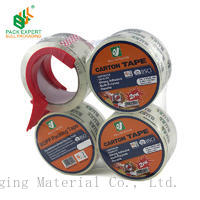 SHENZHEN bull packaging tape High Quality crystalAdhesive BOPP Packaging Tape
