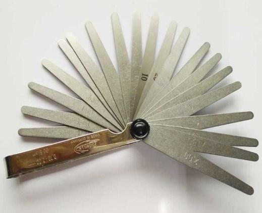 现货德国Phoenix凤凰厚薄规25410015厚薄片0.03-1.0mm共32片塞尺